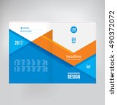 cover for catalogue  brochure ... | Shutterstock .eps vector #490372072
