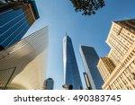 new york   ny usa   september... | Shutterstock . vector #490383745