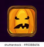 halloween game icon.evil...