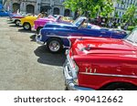 havana  cuba   july 8  2016.... | Shutterstock . vector #490412662