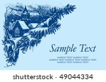 antique background with... | Shutterstock .eps vector #49044334