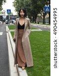 milan  italy   september 23 ... | Shutterstock . vector #490454995