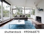 Mid Century Modern Living Room...