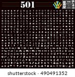 mix icons set | Shutterstock .eps vector #490491352