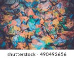 abstract background of the... | Shutterstock . vector #490493656