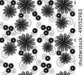seamlessly vector wallpaper... | Shutterstock .eps vector #49052983