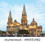 guadalajara  mexico   january 1 ...   Shutterstock . vector #490551982