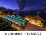 bali  indonesia   jul 24  2016  ... | Shutterstock . vector #490565728