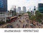 jakarta  indonesia   september... | Shutterstock . vector #490567162