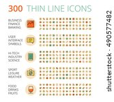 flat design icons for business  ...