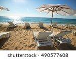 black sea beach | Shutterstock . vector #490577608
