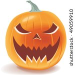 halloween pumpkin | Shutterstock .eps vector #49059910