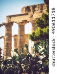 Ancient Greek Temple In...