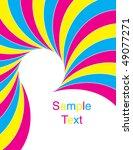 carnival swirl | Shutterstock .eps vector #49077271
