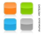 color glassy blank web button... | Shutterstock .eps vector #49078345