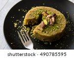 Turkish Dessert Irmik Helvasi...