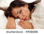sleeping woman  9 | Shutterstock . vector #4908088