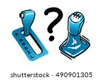 automatic transmission or... | Shutterstock .eps vector #490901305