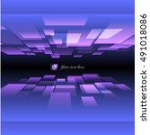 square box zoom design template | Shutterstock .eps vector #491018086