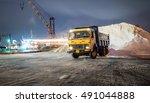 construction equipment on... | Shutterstock . vector #491044888