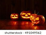 Dark Night Time And Halloween...