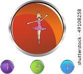 ballerina girl | Shutterstock . vector #49108258