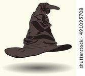 Talking Witch\'s Hat  Cartoon...