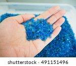 silica gel  moisture adsorbing  | Shutterstock . vector #491151496