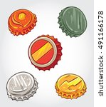 hand drawn vector illustration... | Shutterstock .eps vector #491166178
