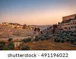 Mount Of Olives Jerusalem...