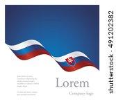 new brochure abstract design... | Shutterstock .eps vector #491202382