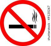 "sign ""no smoking""   Shutterstock . vector #49120267"