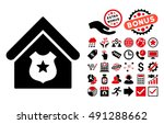 police office pictograph with... | Shutterstock . vector #491288662