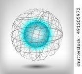 vector illustration on the... | Shutterstock .eps vector #491305972