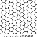 seamless pattern of the warped...   Shutterstock .eps vector #491308732