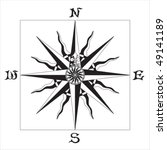 wind rose | Shutterstock .eps vector #49141189