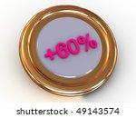 percent. 3d   Shutterstock . vector #49143574