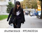 paris  france   september 29 ... | Shutterstock . vector #491463316