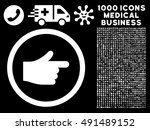 index pointer icon with 1000...