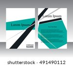 vector flyer template design....   Shutterstock .eps vector #491490112