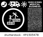 2016 business training icon... | Shutterstock .eps vector #491505478