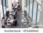 vilnius  lithuania   april 23 ... | Shutterstock . vector #491600062