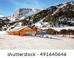 Slopes Of Winter Resort El...