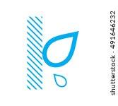 waterproof icon  water... | Shutterstock .eps vector #491646232
