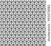 cube geometric seamless pattern....   Shutterstock .eps vector #491670082