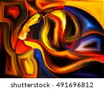 soul cutting series. background ... | Shutterstock . vector #491696812