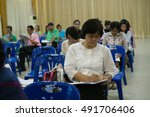 pathumwilai school amphoe lat... | Shutterstock . vector #491706406