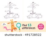 find the differences. kids... | Shutterstock .eps vector #491728522