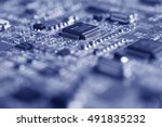 Detail Of An Electronic Printe...