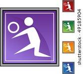 volleyball player | Shutterstock . vector #49185904